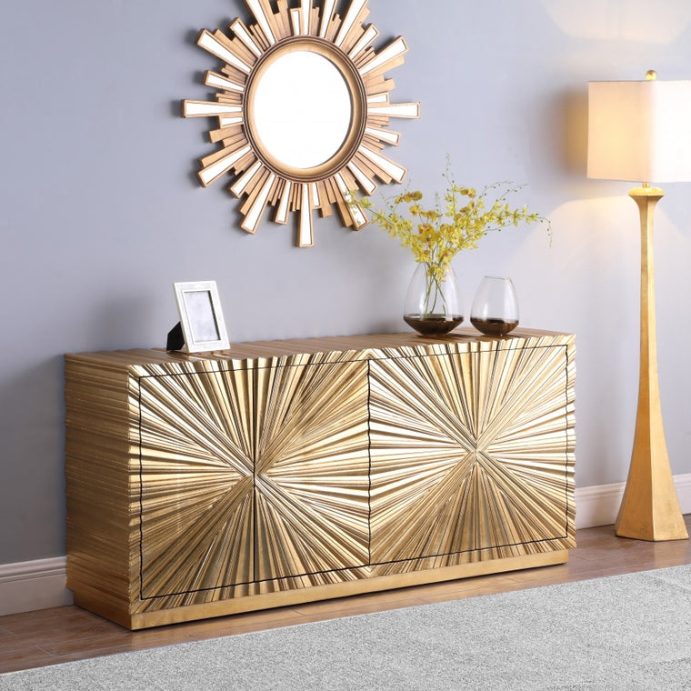 Gold Sideboard/Buffet