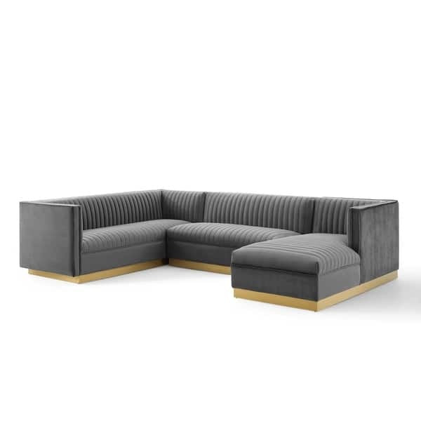 3 Piece Glamour Sectional