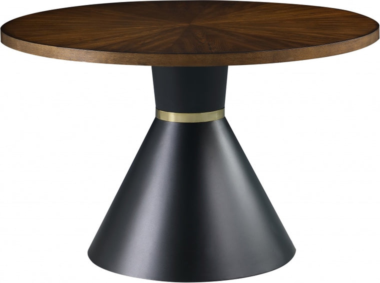 Wood Circular Dinning Table
