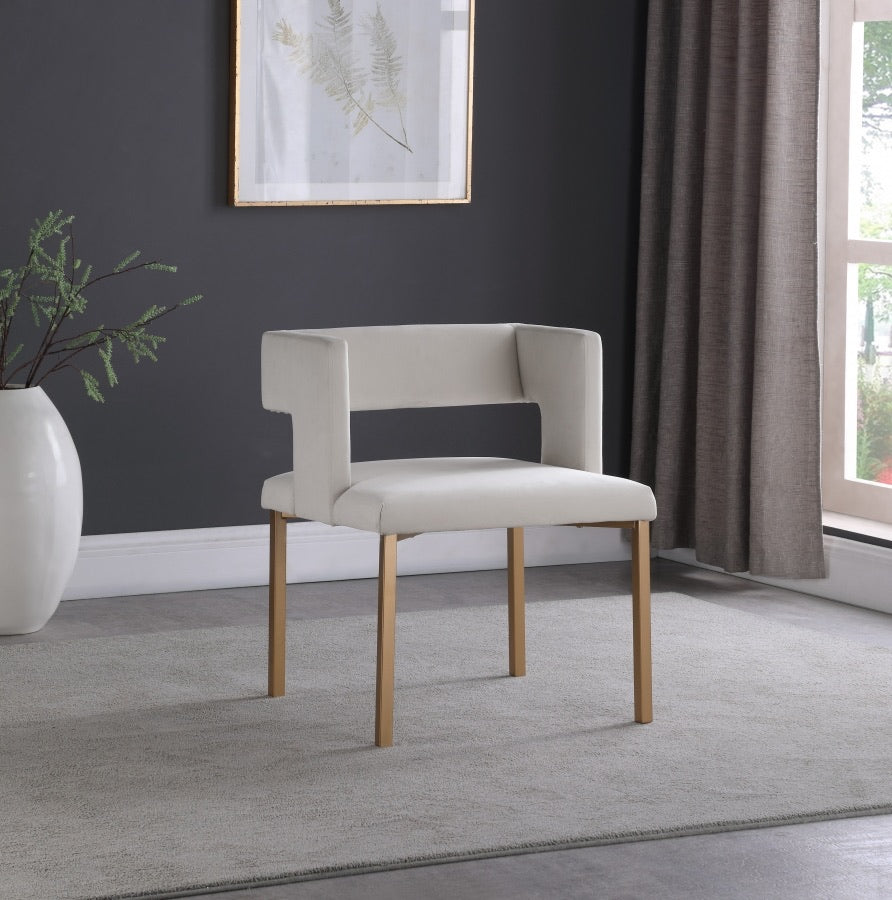 Open Back Dining Chair