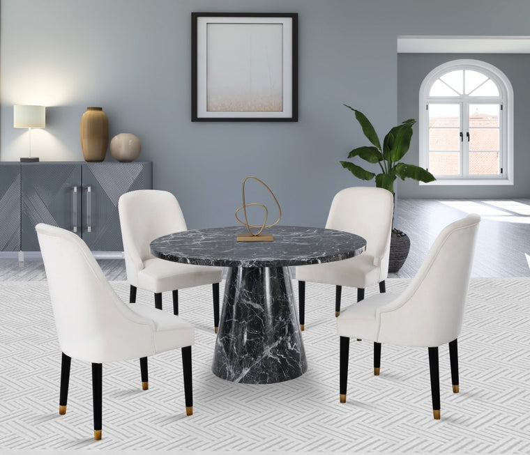 Faux Marble Dining Table