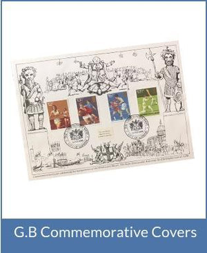 G.B Commemorative Covers