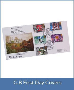 G.B First Day Covers