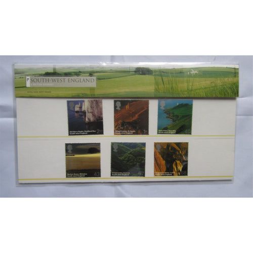 G.B Presentation Pack - South West England - Pk No. 368 08/02/05 - uk-cover-lover