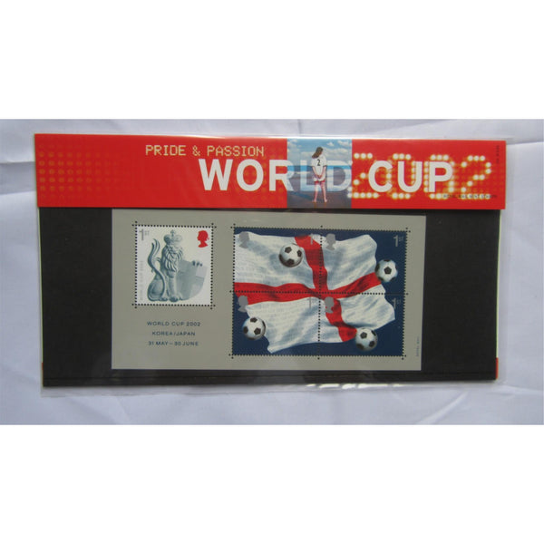 G.B Presentation Pack - World Cup 2002 - Pk No. 335 21/05/02 - uk-cover-lover