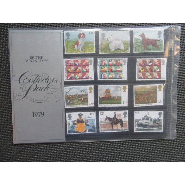 British Mint Stamps 1979 Collectors Pack - uk-cover-lover