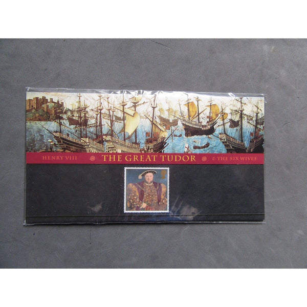 "G.B 1997 ""Henry VIII - The Great Tudor"" Presentation Pack - uk-cover-lover"