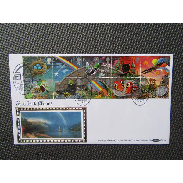 "G.B Benham First Day Cover ""Greetings"" 05/02/91 - uk-cover-lover"