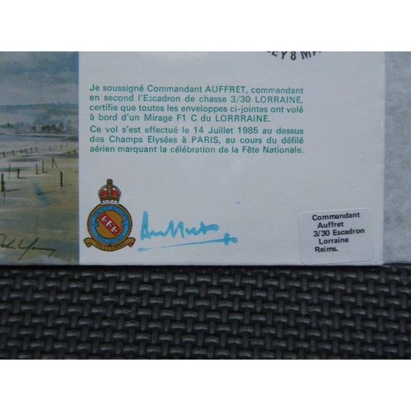 RAF B34 Douglas Boston - 40th Anniversary Of VE Day Signed Cover 08/05/85 - uk-cover-lover