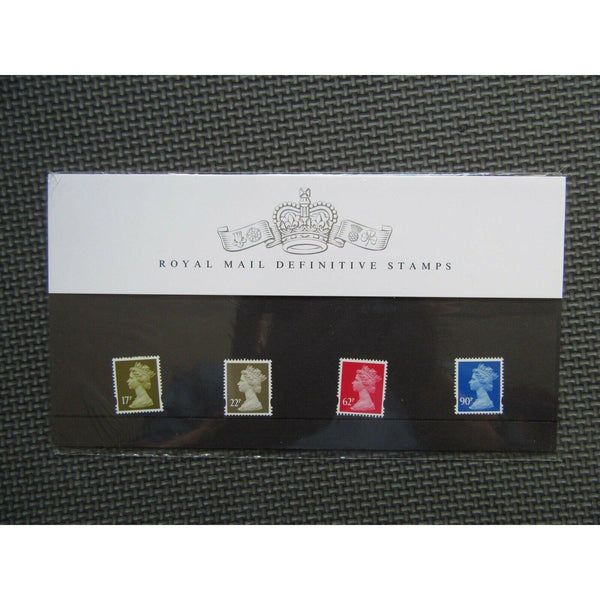 G.B Presentation Pack - Royal Mail Definitive Stamps Pack Number 84 - 31/03/09 - uk-cover-lover