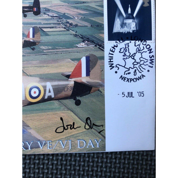 60th Anniversary Of VE / VJ Day - Jock Stirrup Signed Cover 05/07/05 - uk-cover-lover