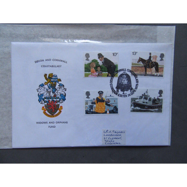 G.B 1979 Police - Devon & Cornwall Constabulary Widows & Orphans Fund Official - uk-cover-lover
