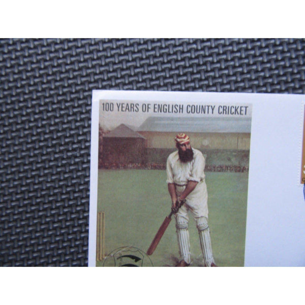 "G.B Official TCCB Cover Celebrating & PM ""County Cricket Centenary"" 16/05/73 - uk-cover-lover"