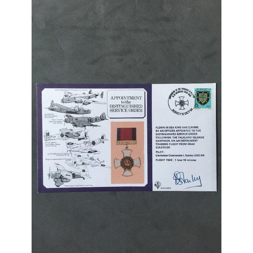 12/10/1984 Appointment to the Distinguished Service Order Signed RAF (Pk S) - uk-cover-lover
