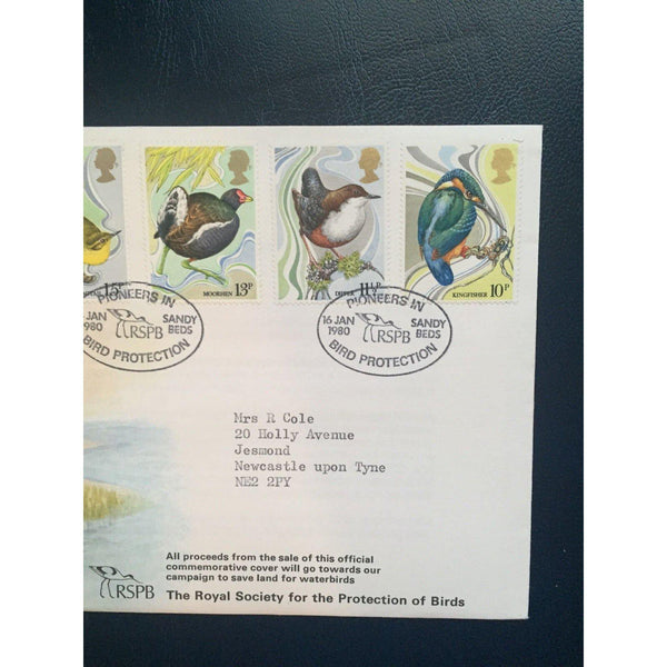 "16/01/80 British Birds ""Pioneers In Bird Protection, Sandy"" RSPB Cover Cat £25 - uk-cover-lover"