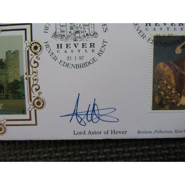 Benham 124b - The Great Tudor - Signed Lord Astor of Hever 21/01/97 - uk-cover-lover
