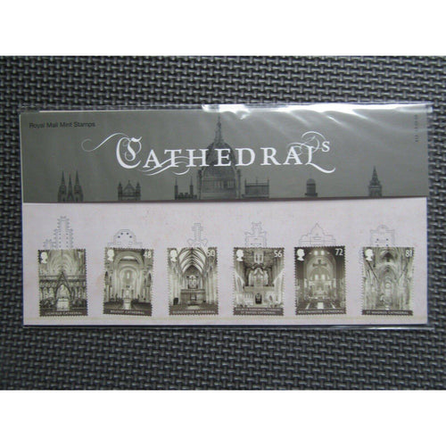 G.B Presentation Pack - Cathedrals - Pk No. 413 13/05/08 - uk-cover-lover
