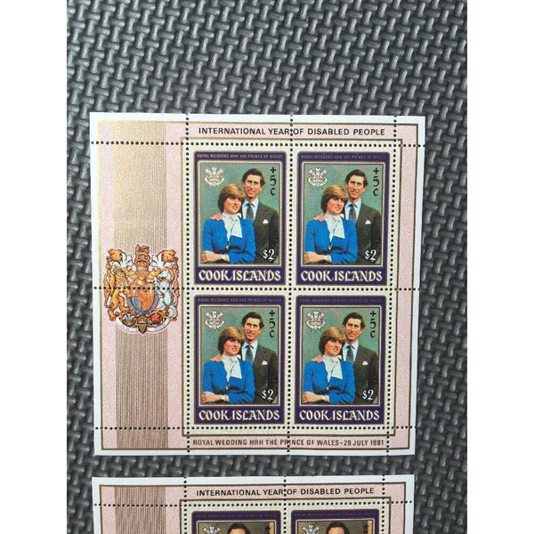 Cool Islands - Royal Wedding / International Year Of Disabled People MNH - uk-cover-lover
