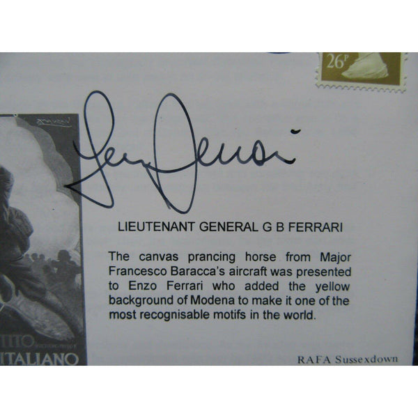 The Austro - German Offensive - General G B Ferrari Signed Cover 24/10/97 - uk-cover-lover