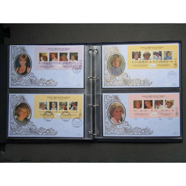 Diana, Princess of Wales - Complete Set of 31 In Memorial Covers Collection - uk-cover-lover