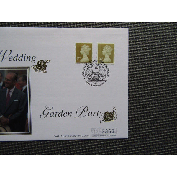 "G.B Mercury First Day Cover ""Royal Wedding Garden Party"" 15/07/97 - uk-cover-lover"
