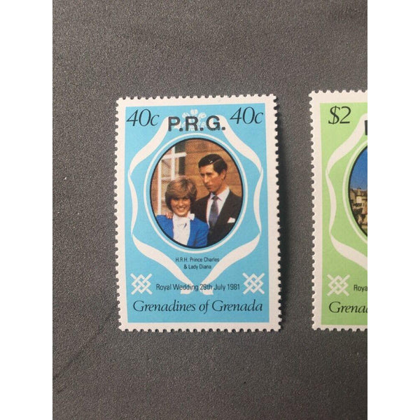 Gren.Grenada 1981 Royal Wedding Officials SG O17/19 MNH - uk-cover-lover