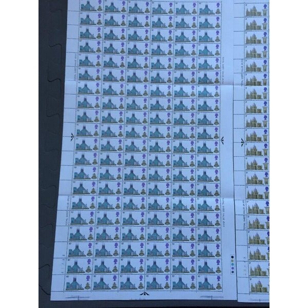 G.B 1968 British Cathedrals 3 Full Individual Sheets 316 Stamps, see description - uk-cover-lover
