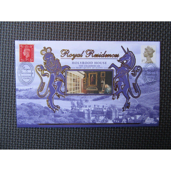 "G.B Benham FDC 'Royal Residences' PM ""Millennium Definitive"" BS Sp26 06/01/00 - uk-cover-lover"