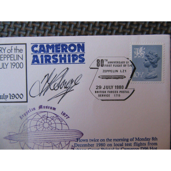 "RAF FF 1A Flown Cover Signed By ""P R Elder"" 01/03/79 - uk-cover-lover"