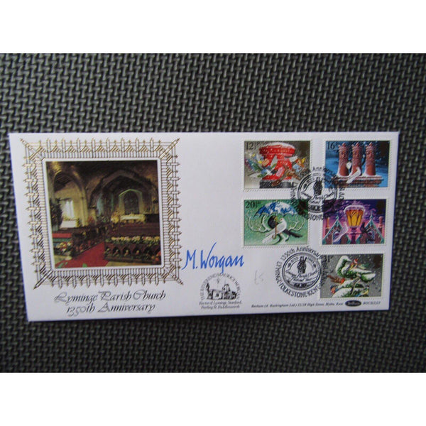 "G.B Benham First Day Cover ""Christmas 1983"" Signed Cover BLCS 23 16/11/83 - uk-cover-lover"
