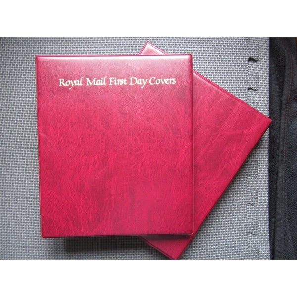 Royal Mail First Day Covers Album With Slipcase & 19 Sleeves - uk-cover-lover