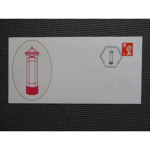 1989 G.B Commemorative Cover - First Reproduction Penfold Pillar Box In Scotland - uk-cover-lover