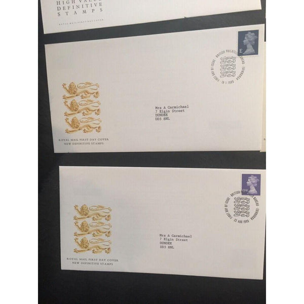 New Definitives, Various Covers (please see pics & info) - uk-cover-lover