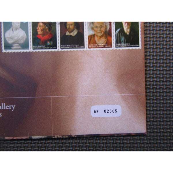 G.B Royal Mail / Mint Coin Cover - National Portrait Gallery - 18/07/06 - uk-cover-lover