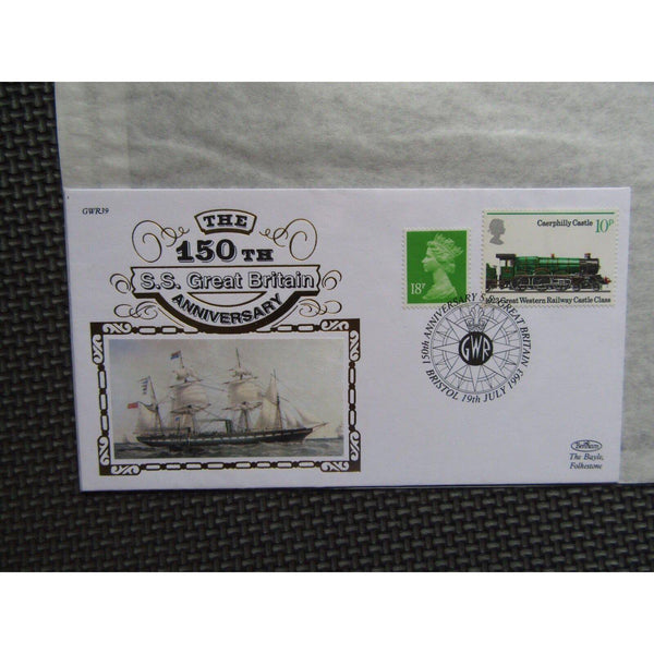 Benham GWR39 150th Anniversary Of The Great Western Railway - SS Great Britain - uk-cover-lover