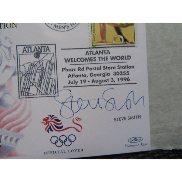 "1996 Olympic Games Atlanta Bentham Cover Signed ""Steve Smith"" 28/07/96 - uk-cover-lover"