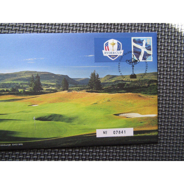 Royal Mail / Mint Medal Cover - The 2014 Ryder Cup - 06/08/14 - uk-cover-lover