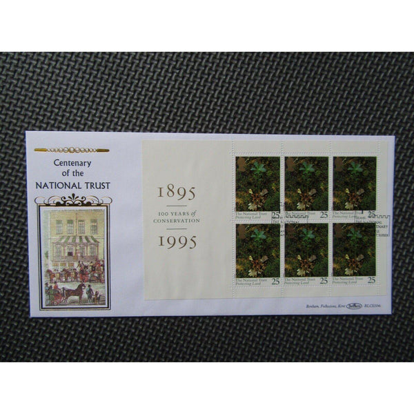 "G.B Benham Cover ""Centenary Of The National Trust"" BLCS 104c 25/04/95 - uk-cover-lover"