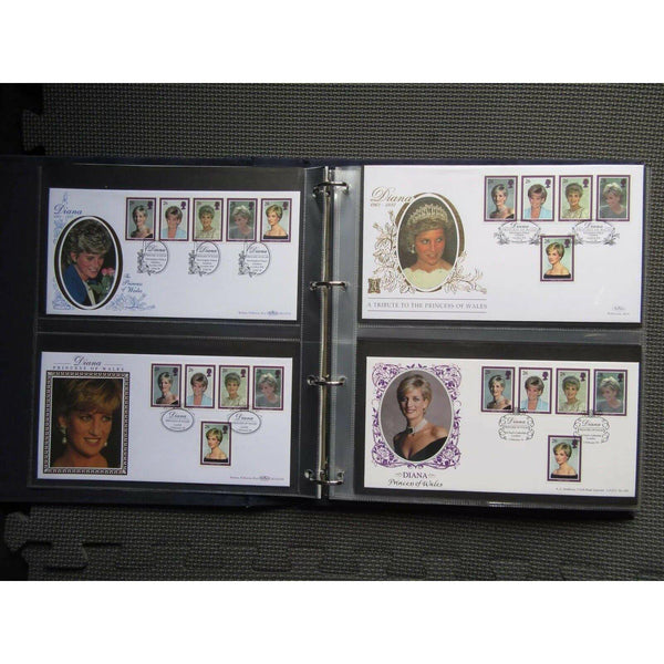 Diana Princess of Wales 1997 Great Britain First Day Covers Collection 03/02/98 - uk-cover-lover