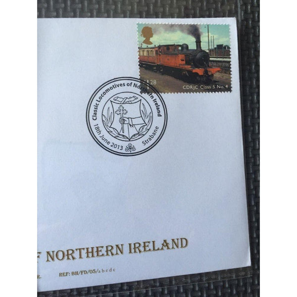 Classic Locomotives Heritage FDC's x 4 S/H/S Ltd Edition (see pics) 18/06/13 - uk-cover-lover