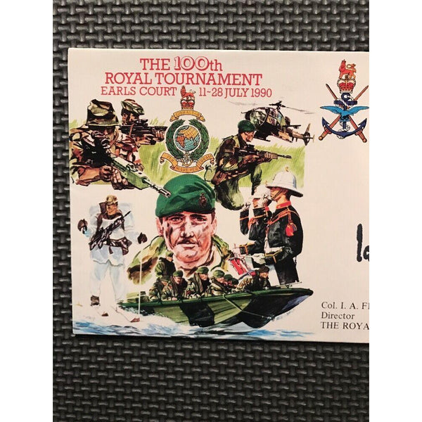 G.B 'The 100th Royal Tournament' Signed Cover 'I.A Ferguson' Director 27/07/90 - uk-cover-lover