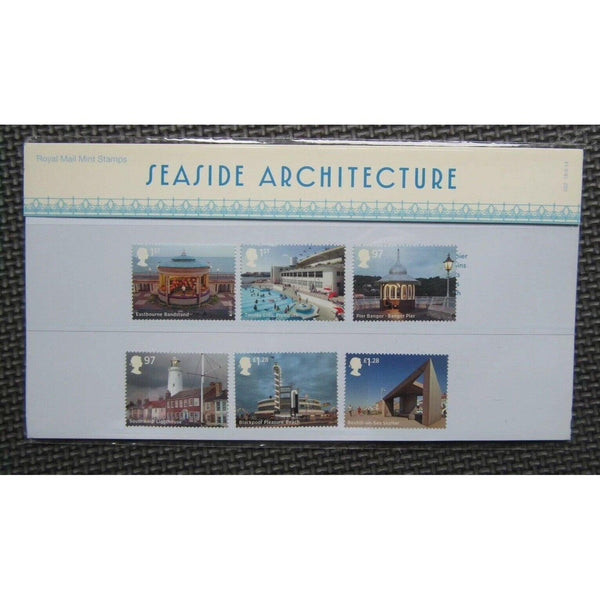 G.B Presentation Pack - Seaside Architecture - Pack No.502 18/09/14 - uk-cover-lover