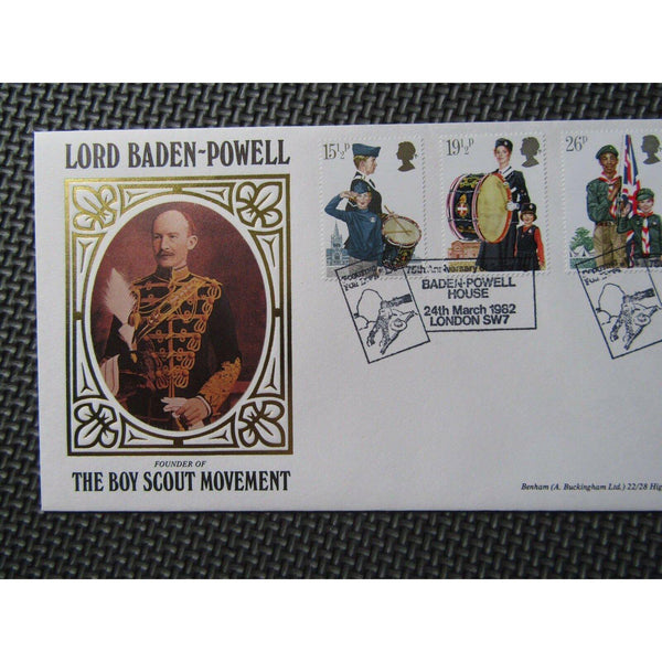 "G.B Benham Cover ""Lord Baden Powell"" BLC2 24/03/82 - uk-cover-lover"