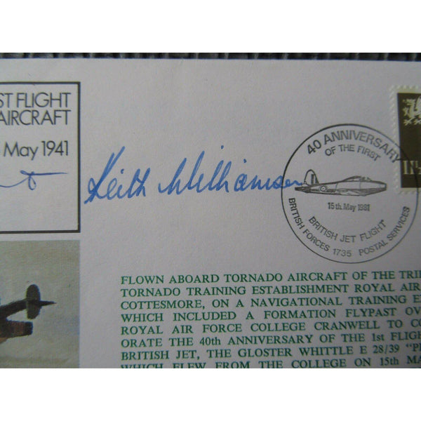 RAF FF30 'Chief Test Pilot Daunt & Williamson Signed & Dual Flown Cover - uk-cover-lover