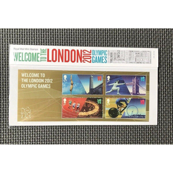 G.B Presentation Pack - Welcome To The London 2012 Olympic Games - Pk No. 474 - uk-cover-lover