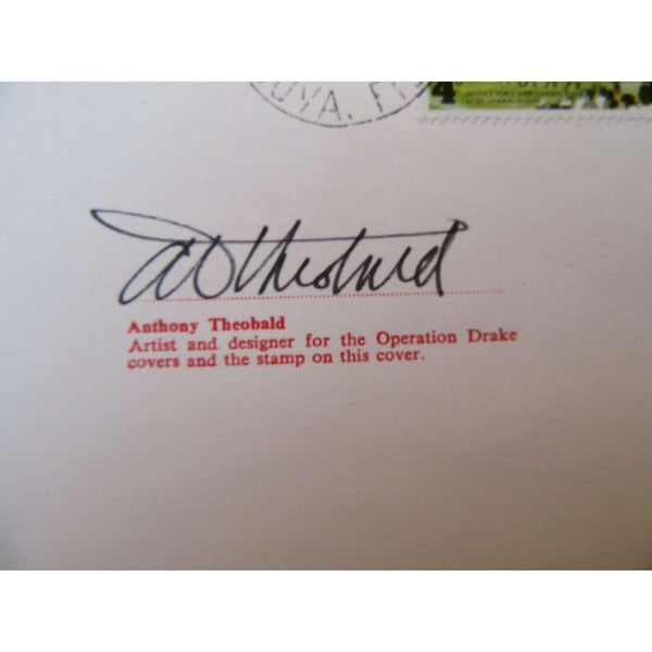 "D5 'Operation Drake' Cover - Signed ""Anthony Theobald"" 31/07/79 - uk-cover-lover"