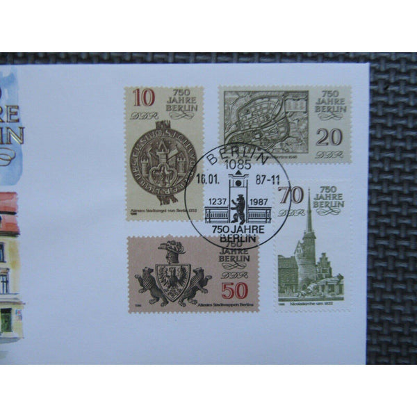 Germany 1987 - 750 Jahre Berlin Coin Cover - Rare - uk-cover-lover