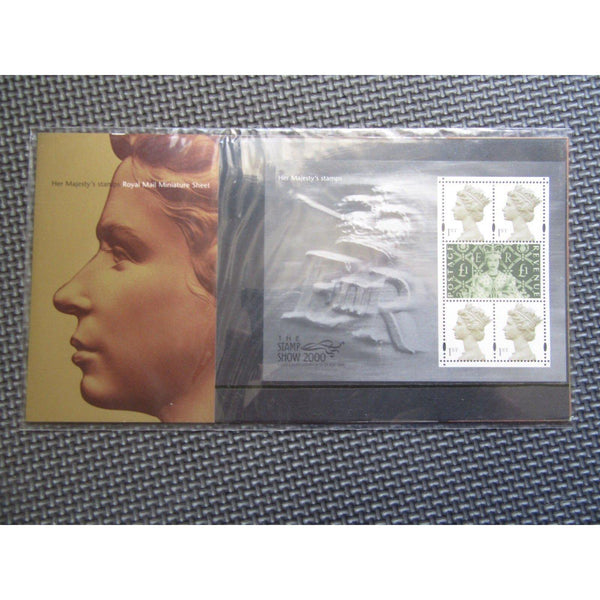 "G.B Presentation Pack ""Her Majesty's Stamps"" Pk No.M03 23/05/00 - uk-cover-lover"
