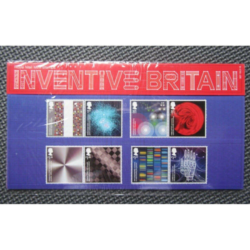 G.B Presentation Pack - Inventive Britain - Pack No.507 19/02/15 - uk-cover-lover