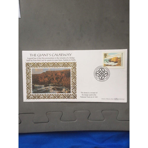 "Benham Silk Cover ""The Giants Causeway"" 26/07/94 BLCS Sp 3 - uk-cover-lover"